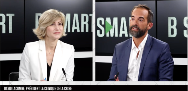 LA CLINIQUE DE LA CRISE était sur BSMART TV